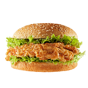 Foto Fried chickenburger