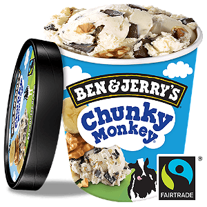 Foto Ben & Jerry's Chunky Monkey 100 ML
